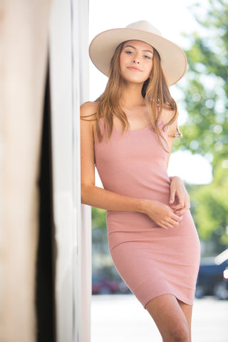 CJ Cruz Rachel Dress in Pink