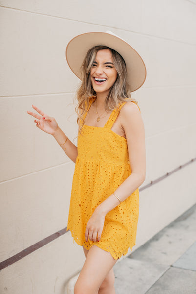 CJ Cruz Sunflower Romper
