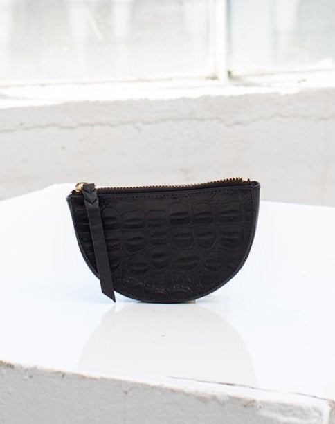 Cleobella Liya Coin Purse in Black
