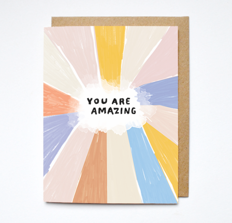Daydream Prints You Are Amazing Card