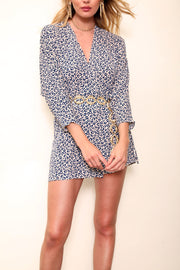 East N West Label Aster Dress in Leopard
