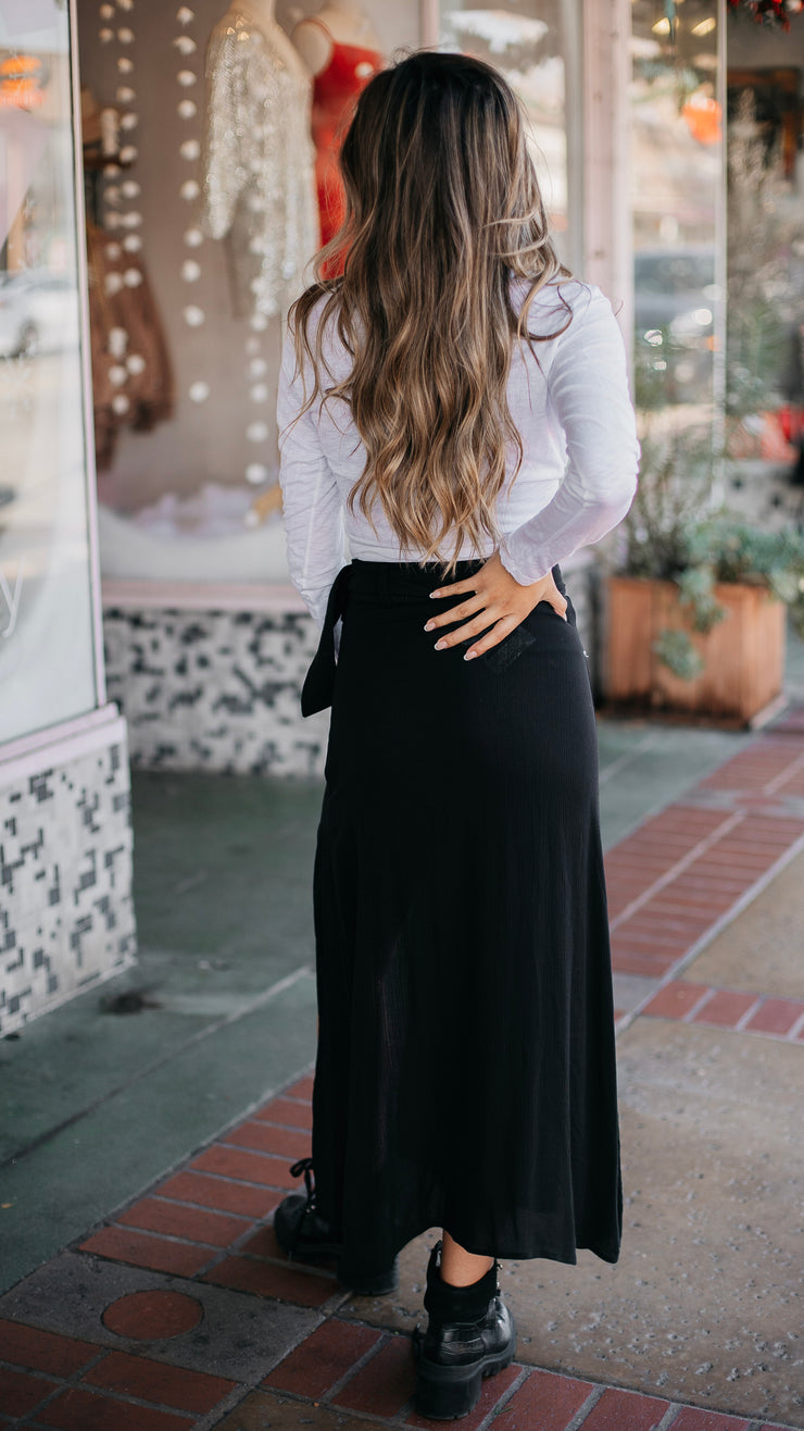 East N West Corrine Skirt in Black