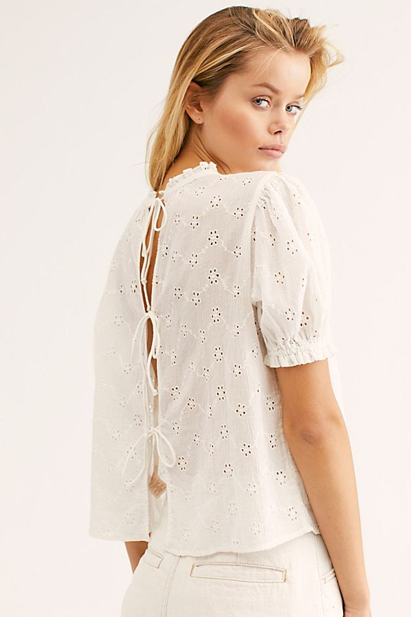 Free People Letters To Juliet Top