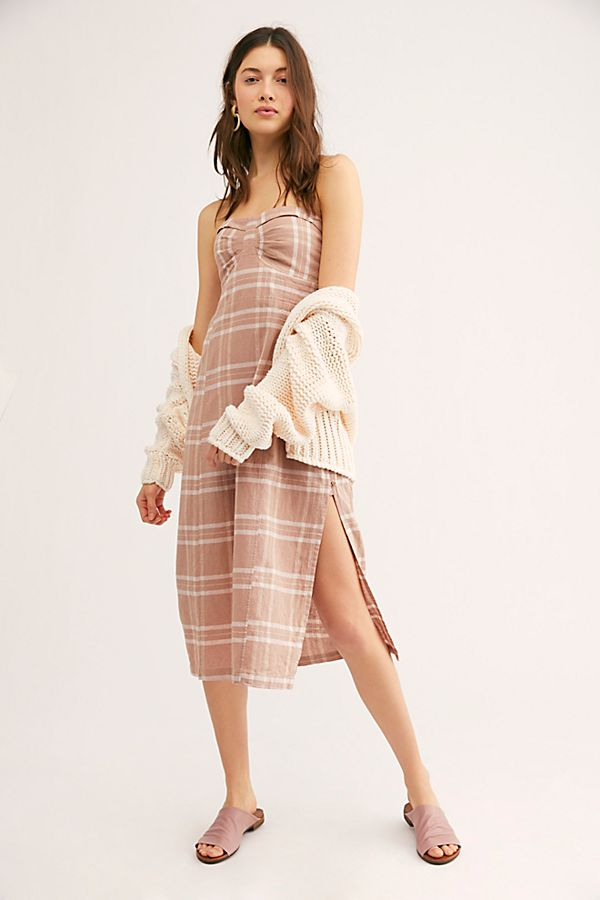 Free People Life Like This Plaid Dress