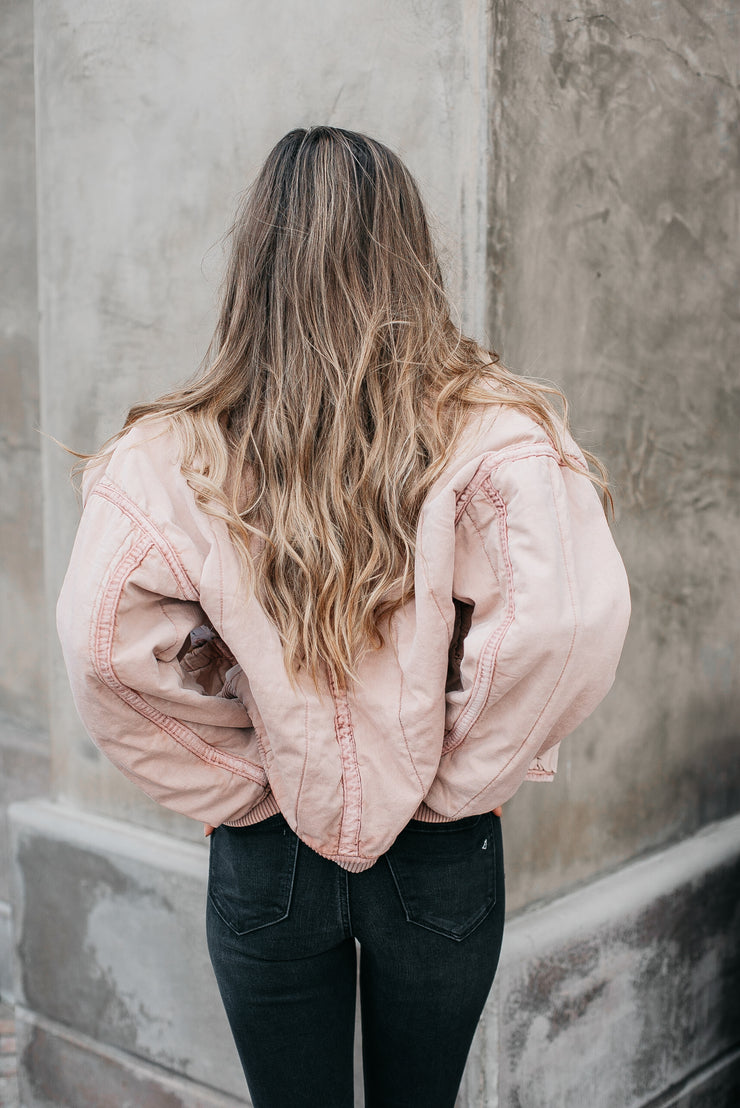 Free People Mixed Signals Jacket