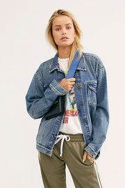 Free People Ramona Denim Trucker