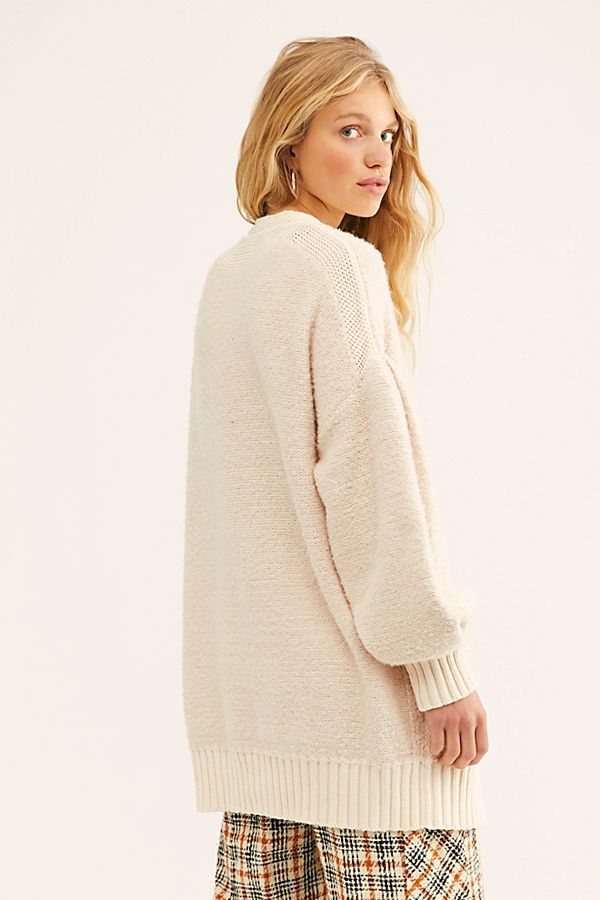 Free People Snow Drop Cardi