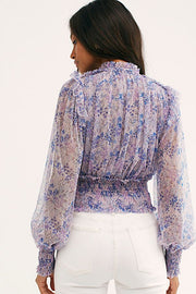 Free People Twyla Top in Lilac