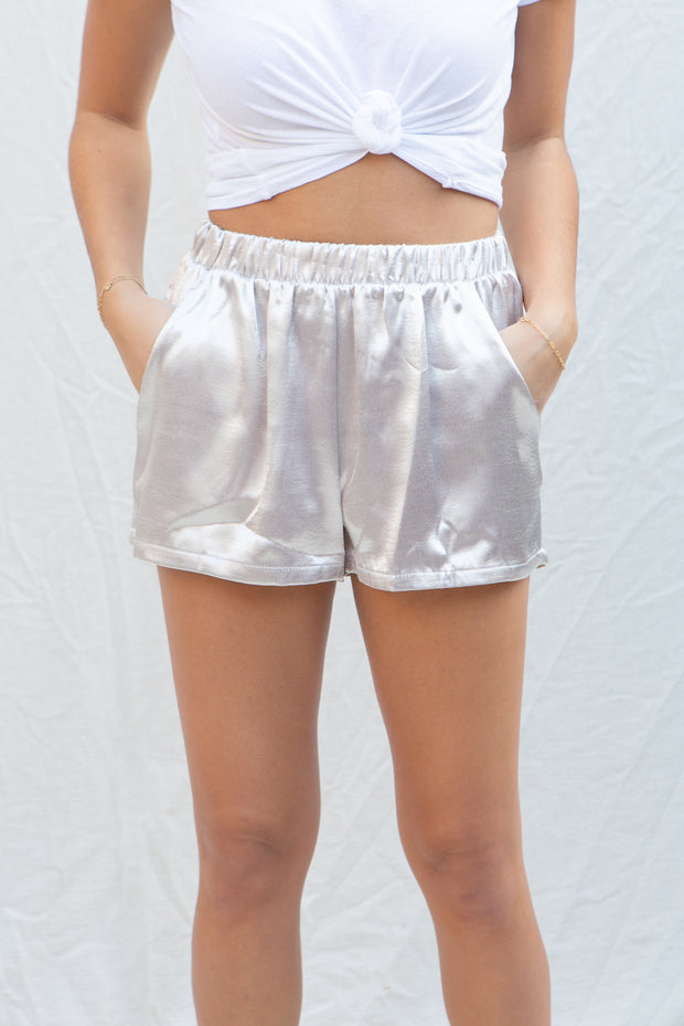 Guild Pearl Satin Shorts