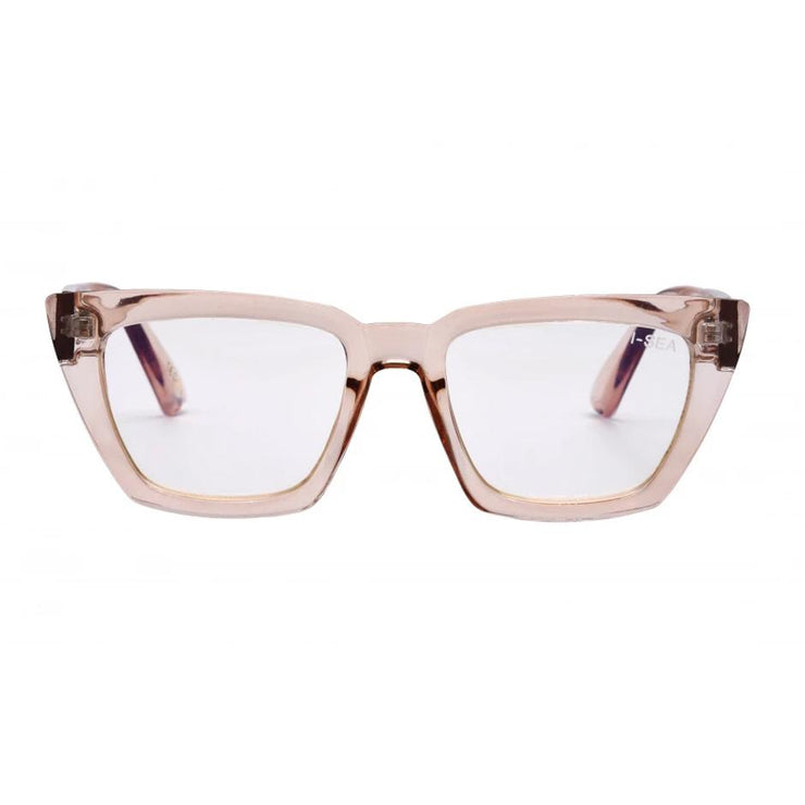 I-Sea Amelia Blue Light Lens in Taupe