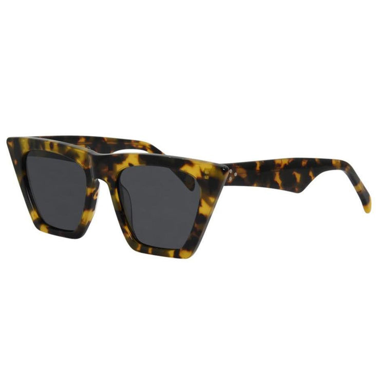 I-Sea Lucy in Snow Leopard Acetate + Smoke
