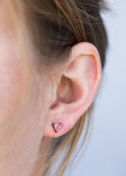 Jax Kelly Amethyst Mini Energy Gem Earrings
