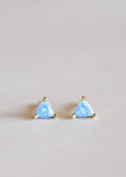Jax Kelly Fire Opal Mini Energy Gem Earrings