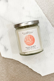 Jax Kelly Candle Peach Quartz Candle