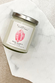 Jax Kelly Candle Rose Quartz Candle