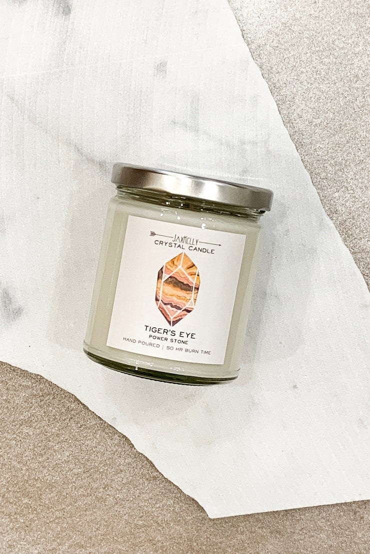 Jax Kelly Candle Tigers Eye Candle