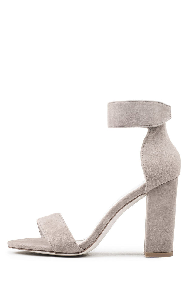 Jeffrey Campbell Lindsay in Taupe Suede