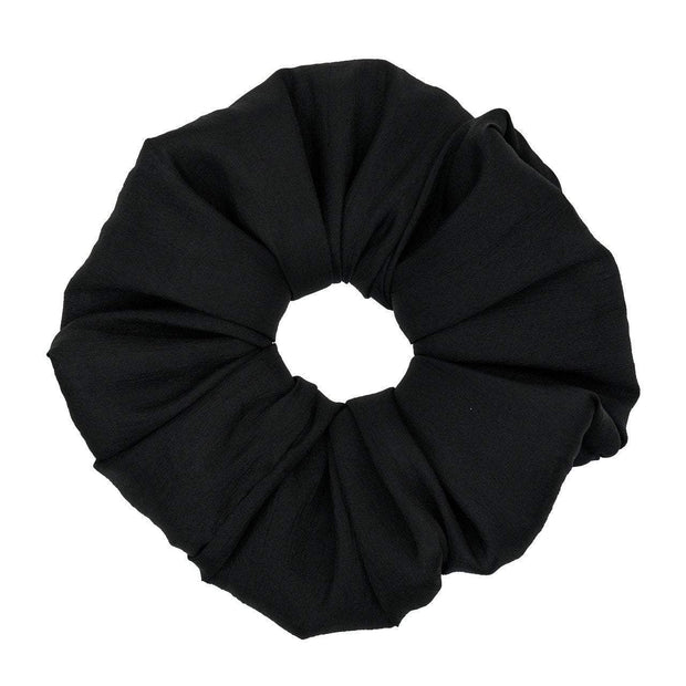 Kitsch Dinner Scrunchie in Black