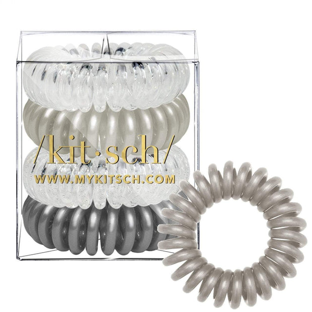 Kitsch Hair Coils in Silver