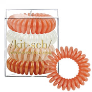 Kitsch Hair Coils in Rose