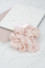 Kitsch Brunch XL Scrunchie in Frayed Blush