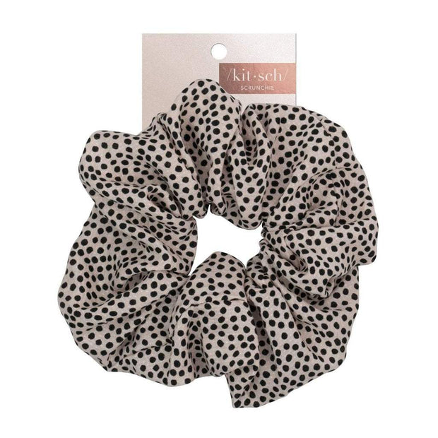 Kitsch Brunch XL Scrunchie in Ivory Dot