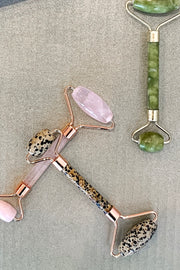 Kitsch Rose Quartz Crystal Facial Roller