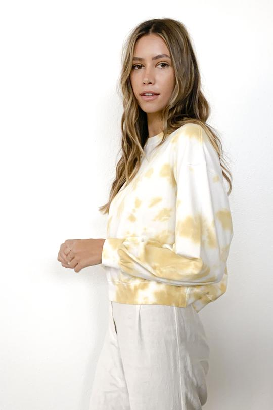 Knot Sisters Madison Pullover in Gold