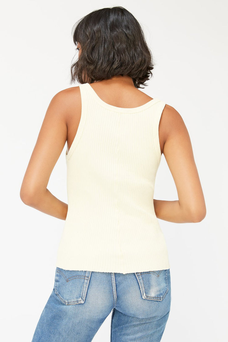 Lacausa Cora Tank in Butter