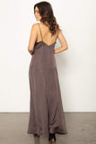 Stillwater The Ever Thine Maxi Dress in Charcoal