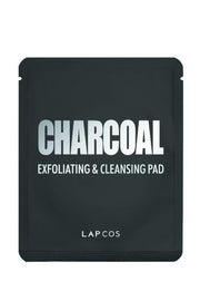 LAPCOS Charcoal Exfoliating + Cleansing Pad