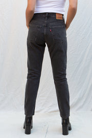 Levi's 501 Skinny in Black Mail