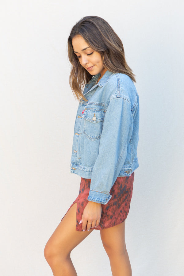 Levi's New Heritage Trucker Jacket in Get Over It