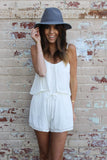 Lost In Lunar Love Ladder Romper