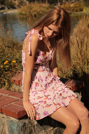 Lost + Wander Garden of Delight Mini Dress