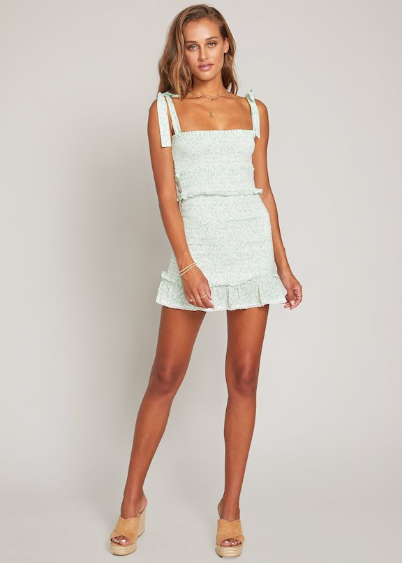 Lost + Wander Mojito Please Mini Dress
