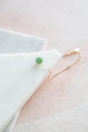 Marida Itty Bitty Bracelet in Chrysoprase