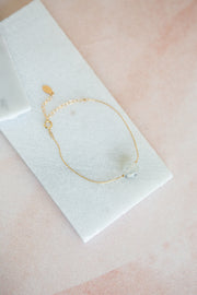 Marida Itty Bitty Bracelet in Moonstone