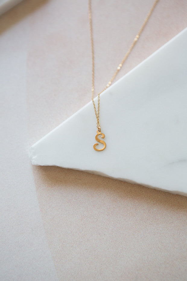 Marida Letter Necklace