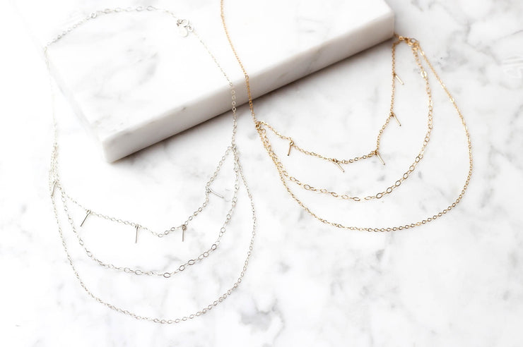 Marida Muse Layered Choker