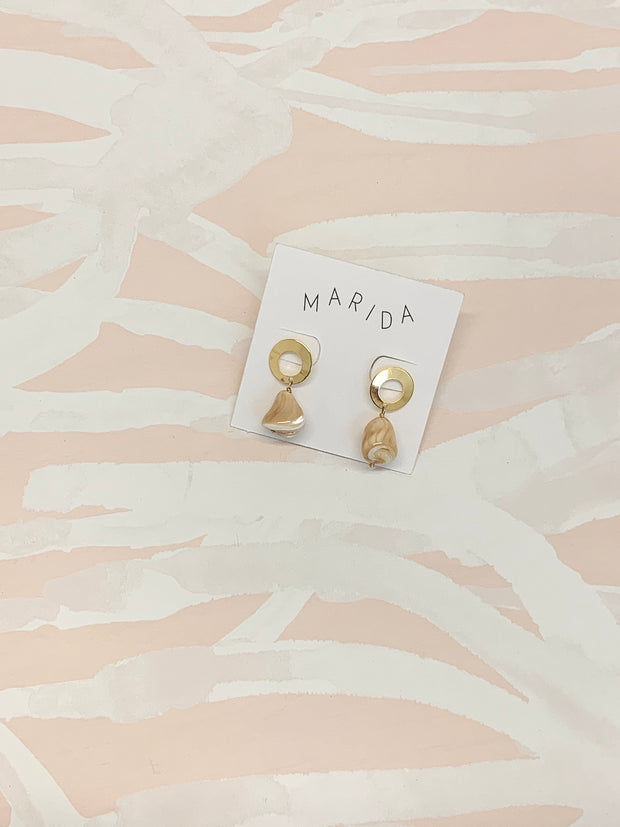 Marida Una Earrings