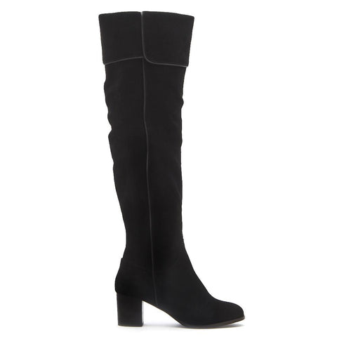 Matisse Piper Over the Knee Boot in Black