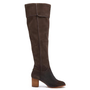 Matisse Piper Over the Knee Boot in Chocolate