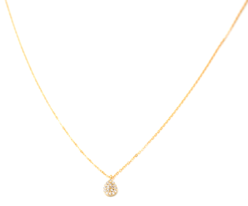 May Martin CZ Teardrop Necklace