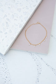 May Martin Five Pearl Bracelet