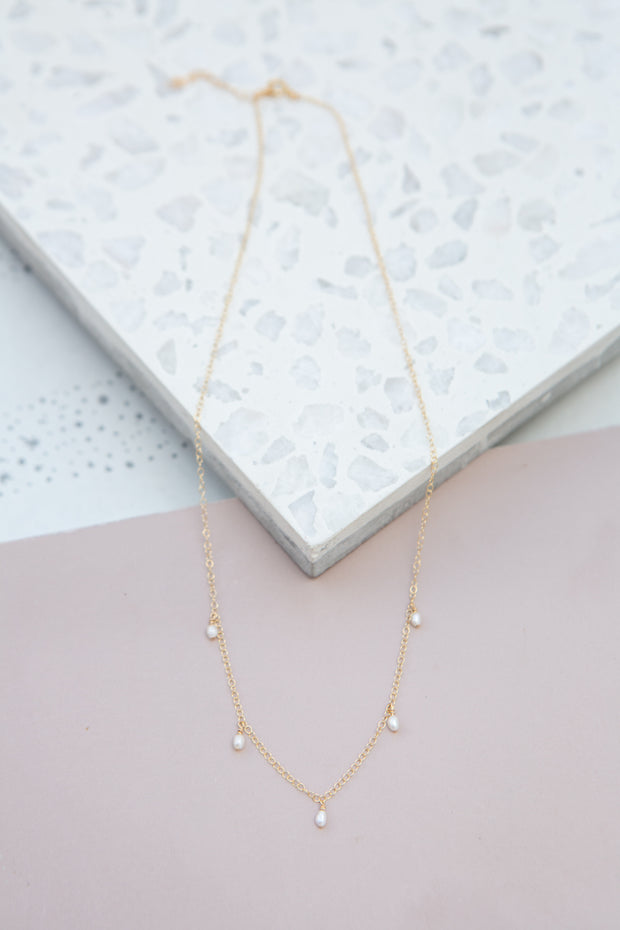 May Martin Five Pearl Necklace