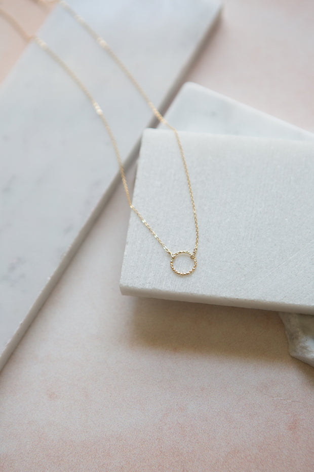 May Martin Karma Loop Necklace