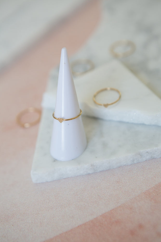 May Martin Mini Heart Ring