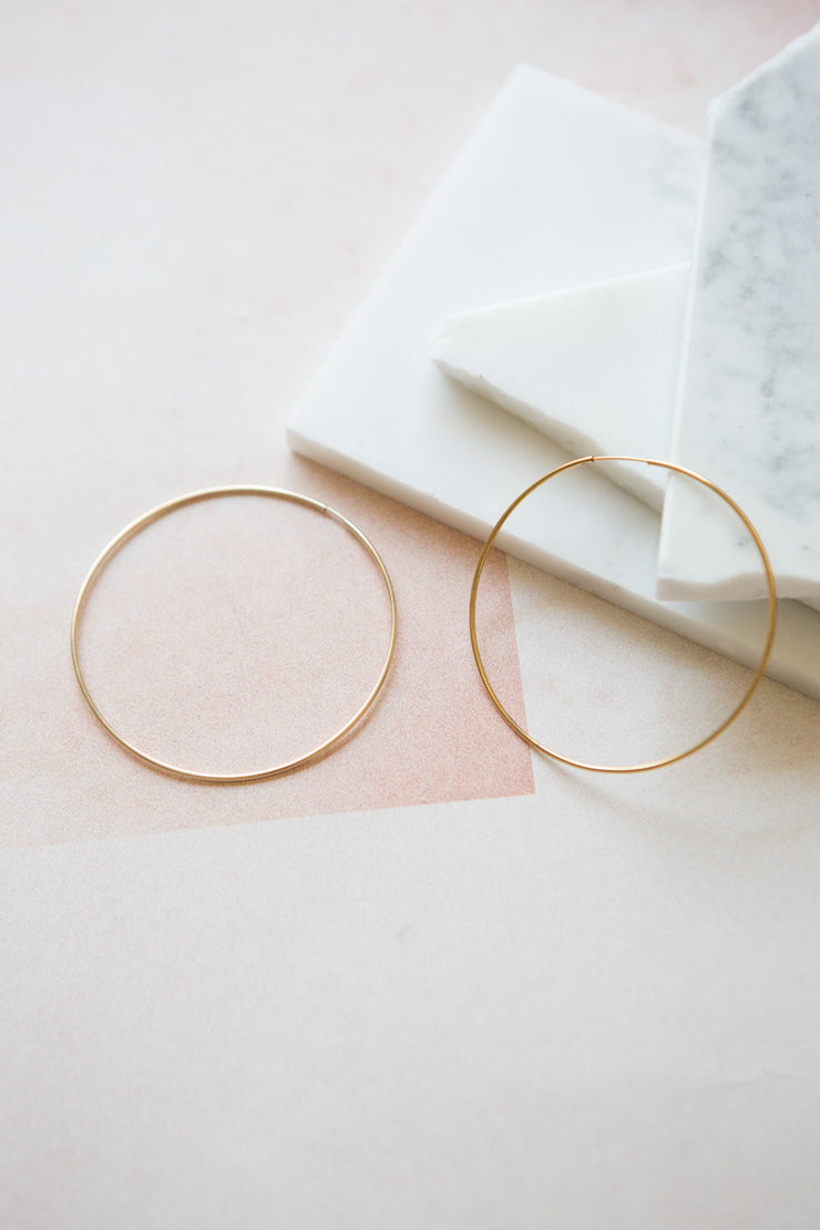 May Martin Seamless Hoops