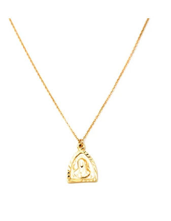 May Martin Triangle Mary Necklace